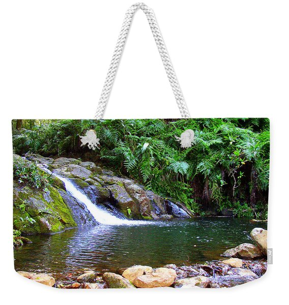 Healing Pool - Maui Hawaii Weekender Tote Bag
