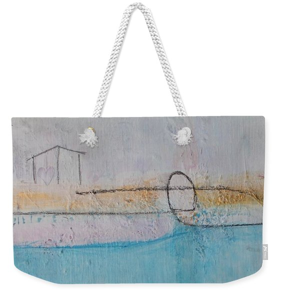 Weekender Tote Bag featuring the painting Heart Of The Home by Kim Nelson