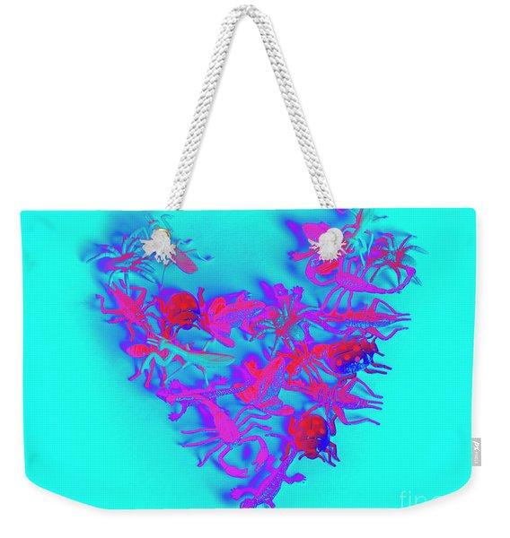Heart Of The Wild Weekender Tote Bag