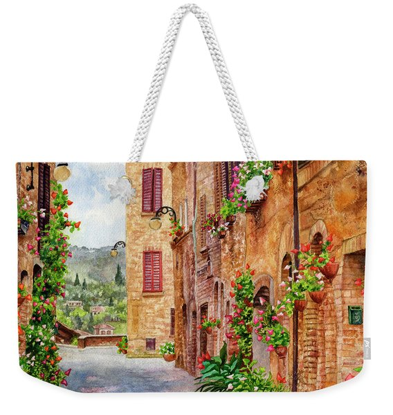 Hearts A'bloom II Weekender Tote Bag