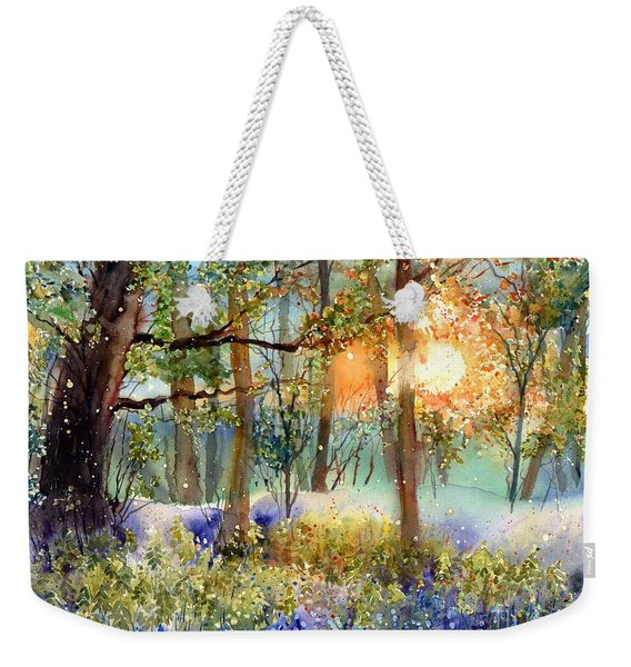 Heathers In Gold Weekender Tote Bag