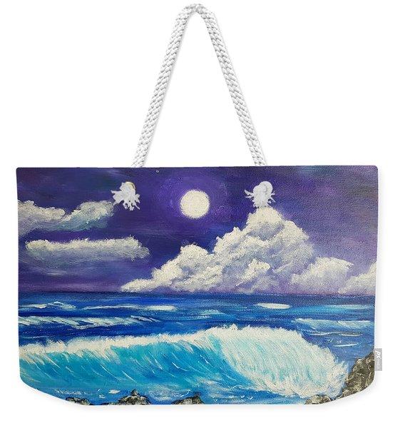 Heaven Meets Earth Weekender Tote Bag