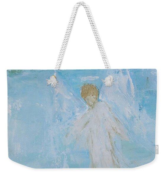 Heavenly Angel Child Weekender Tote Bag