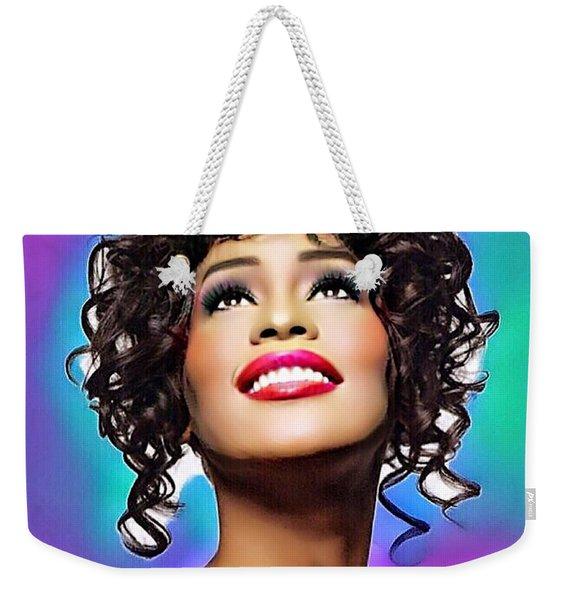 Heavenly Songbird Weekender Tote Bag
