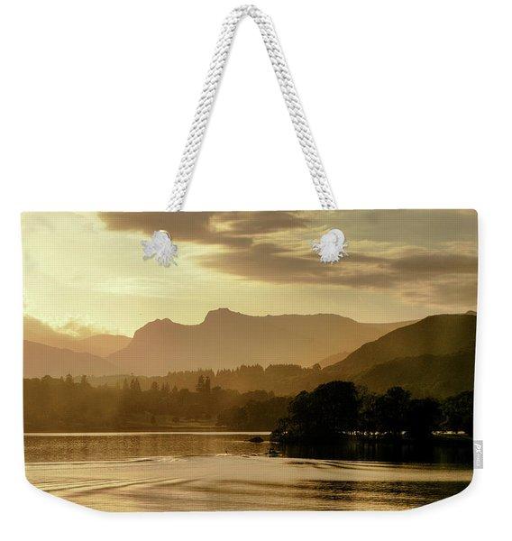 Heavens Golden Hour Weekender Tote Bag