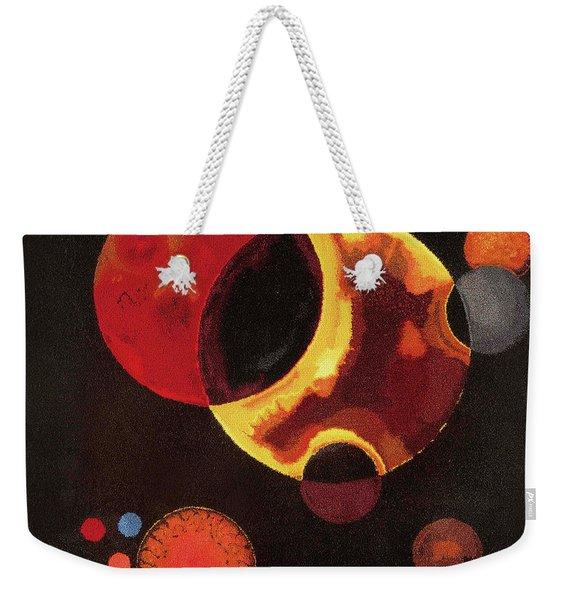 Heavy Circles Weekender Tote Bag