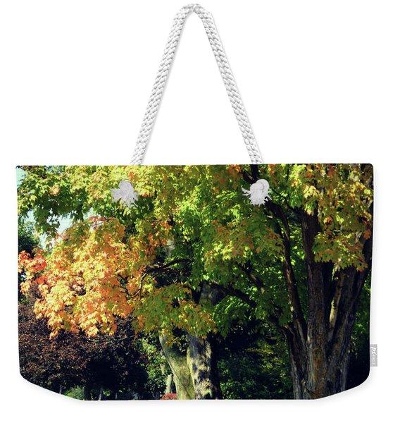 Her Beautiful Path Home Weekender Tote Bag