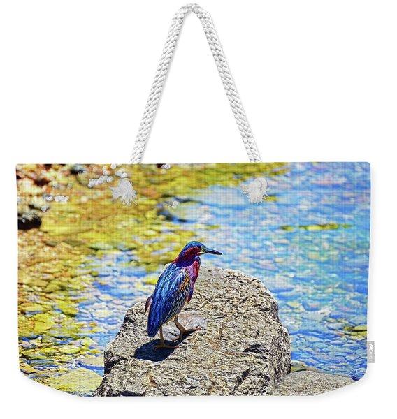 Heron Bluff Weekender Tote Bag