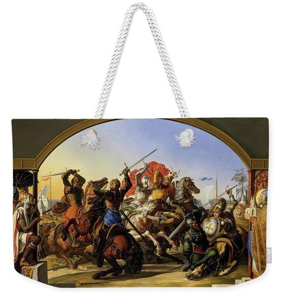 Hexathlon On The Island Of Lipadusa, 1816 Weekender Tote Bag