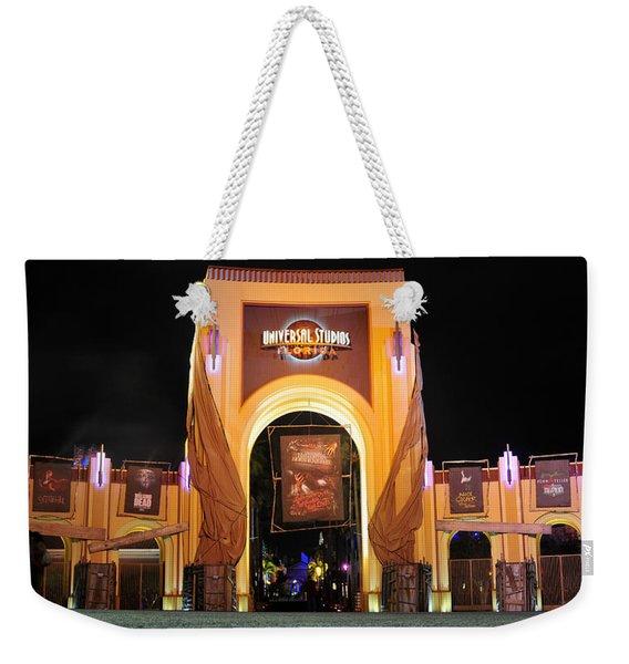 Hhn 22 Orlando Front Gate  Weekender Tote Bag