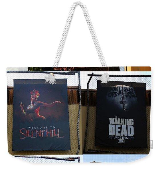 Hhn 22 Tribute Poster A Weekender Tote Bag