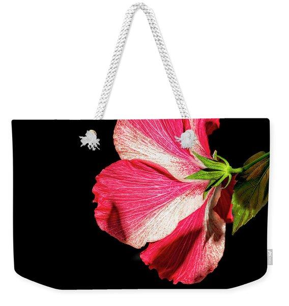 Hibiscus In Shadow Weekender Tote Bag
