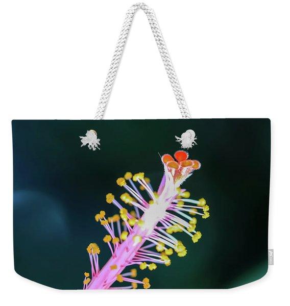 Hibiscus' Pistil Weekender Tote Bag