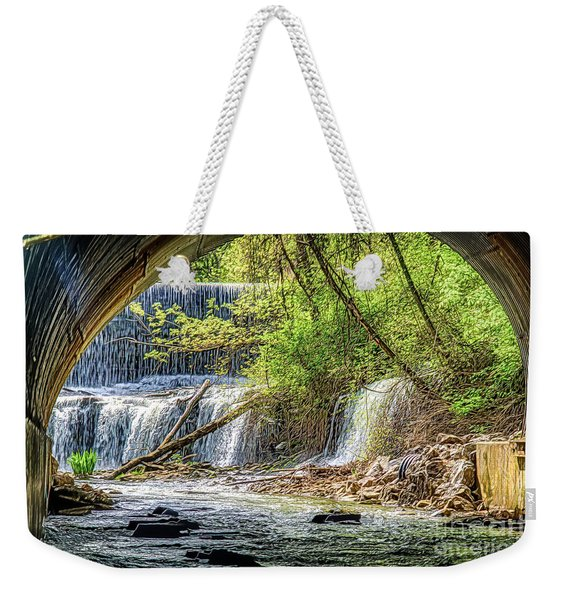 Hidden Falls Weekender Tote Bag