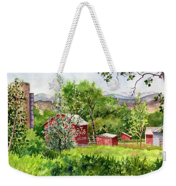 Hidden Farm Weekender Tote Bag