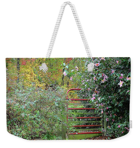 Hidden Gate Weekender Tote Bag