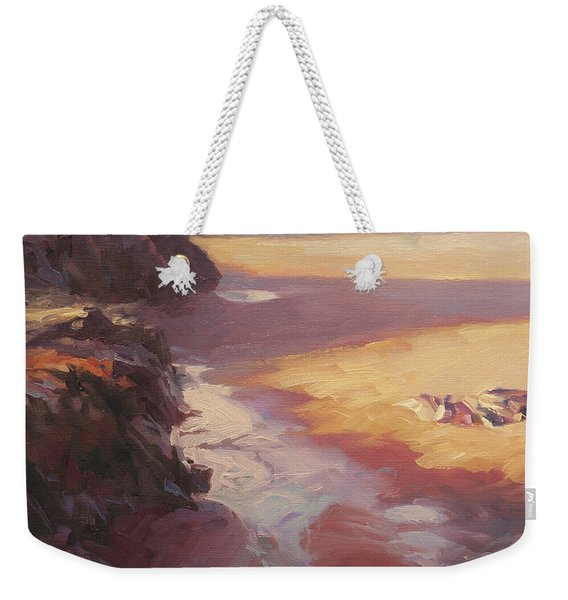 Hidden Path To The Sea Weekender Tote Bag
