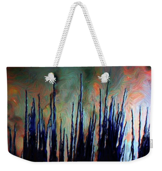 Hiding In The Tall Grass Weekender Tote Bag