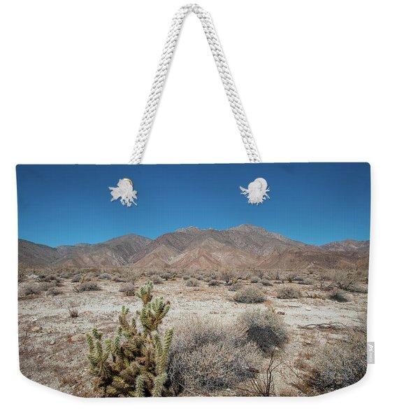 High Desert Cactus Weekender Tote Bag
