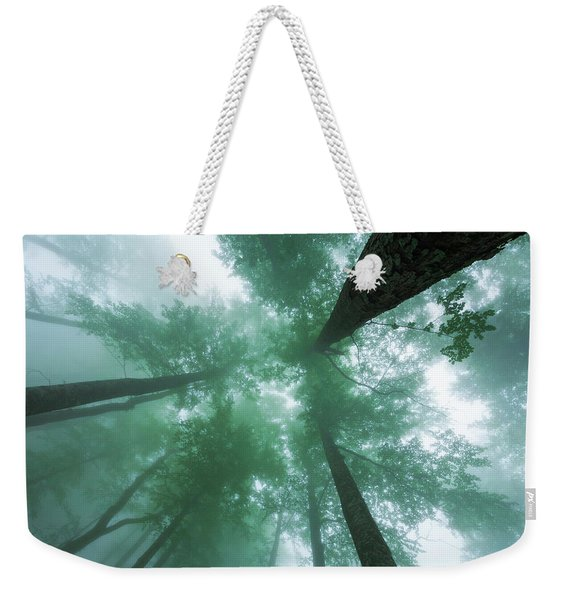 High In The Mist Weekender Tote Bag