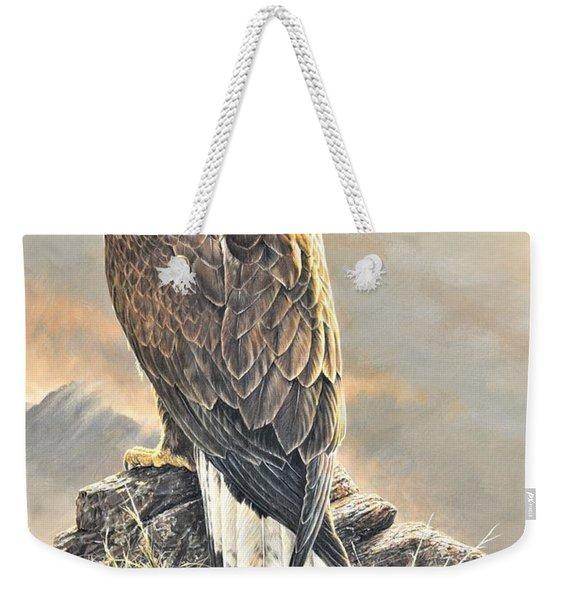 Highlander - Golden Eagle Weekender Tote Bag