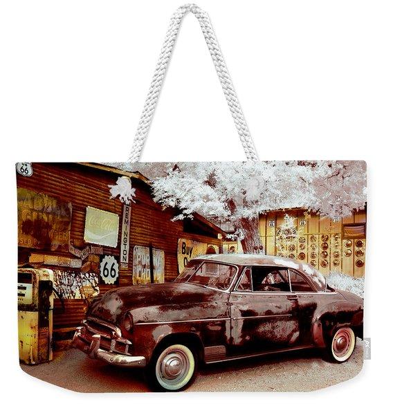 Highsmith Old Car Weekender Tote Bag