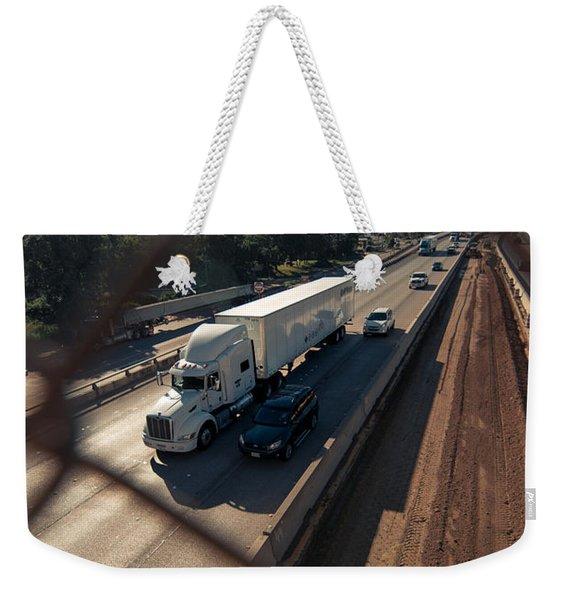 Highway Capture Weekender Tote Bag