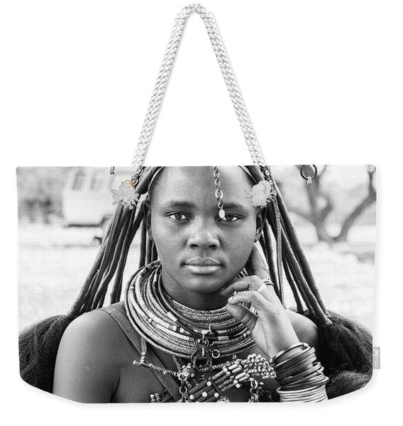 Himba Style Girl Weekender Tote Bag