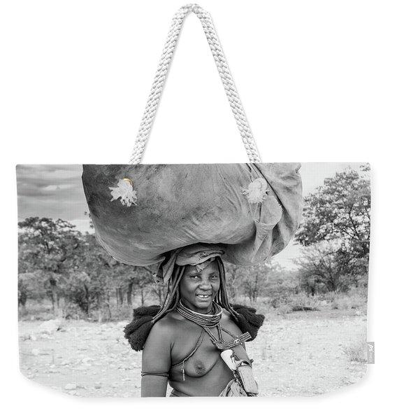 Himba Woman 2 Weekender Tote Bag