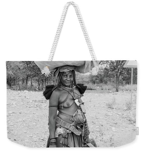 Himba Woman 3 Weekender Tote Bag