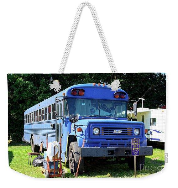 Hippie Parking Only Weekender Tote Bag