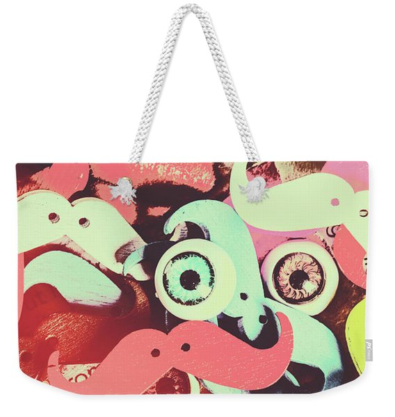 Hipster Trickster Weekender Tote Bag