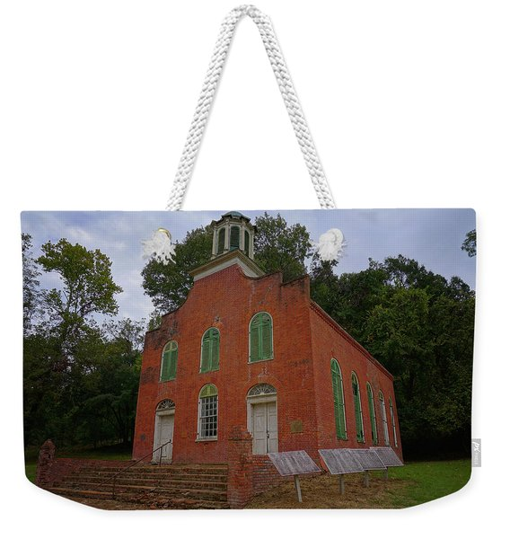 Historic Church Image Weekender Tote Bag
