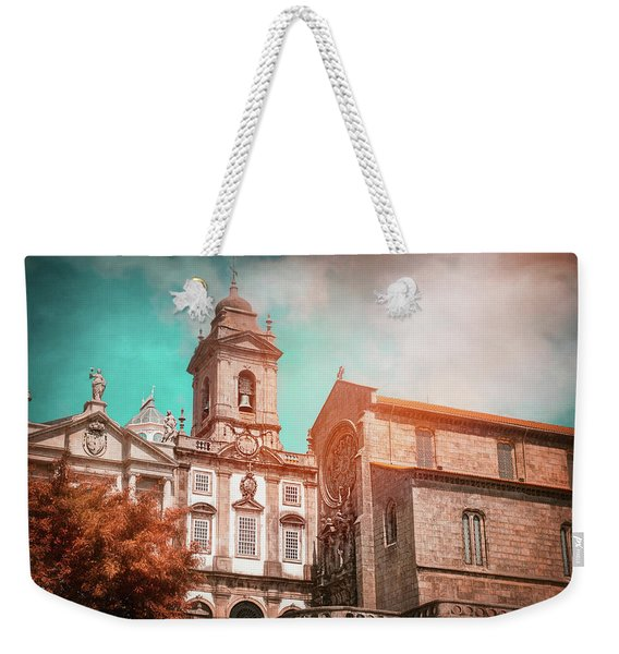 Historic Churches Of Porto Portugal  Weekender Tote Bag