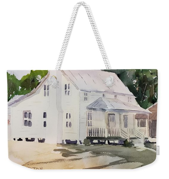 Historic Home Weekender Tote Bag