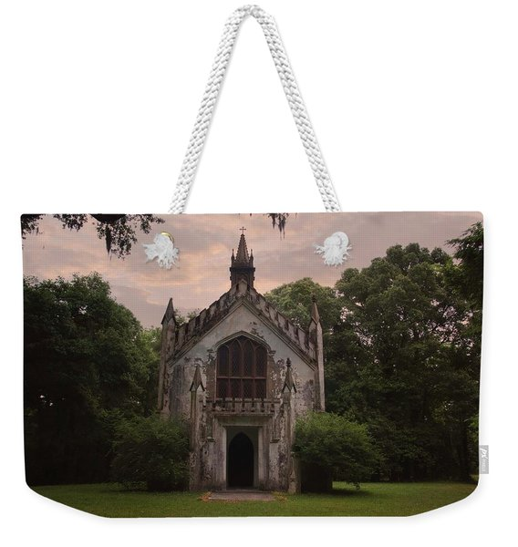 Historic Mississippi Church In The Woods Weekender Tote Bag