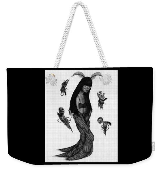 Hitome Miyamoto - Artwork Weekender Tote Bag