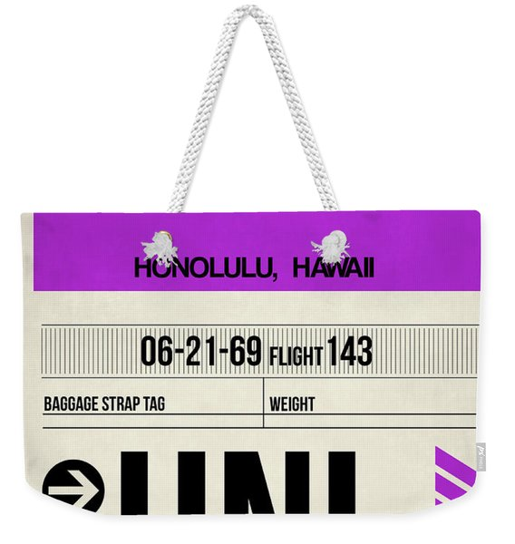 Hnl Honolulu Luggage Tag I Weekender Tote Bag