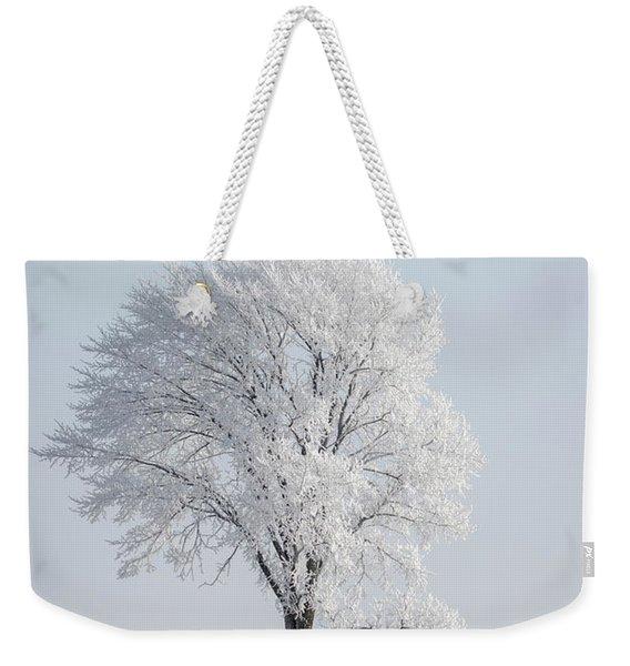 Hoar Frost At Bvg 2018-8 Weekender Tote Bag