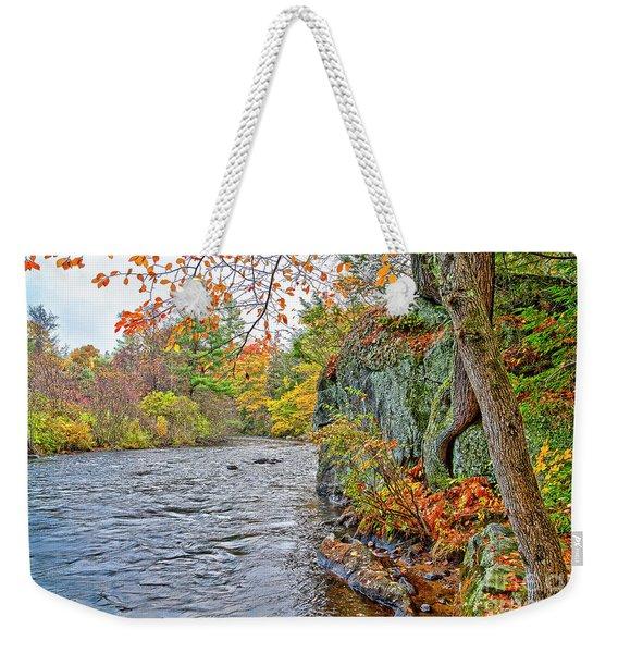 Hogback Dam Pool Weekender Tote Bag