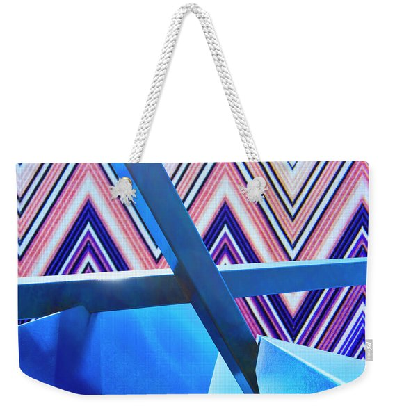 Holding Pattern Rise Of Abstraction Weekender Tote Bag