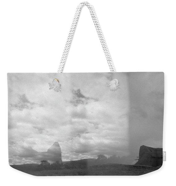 Holga Triptych 4 Weekender Tote Bag