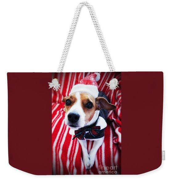 Holiday Jack Weekender Tote Bag