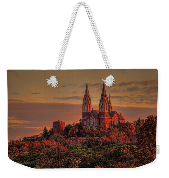 Holy Hill Sunrise Weekender Tote Bag