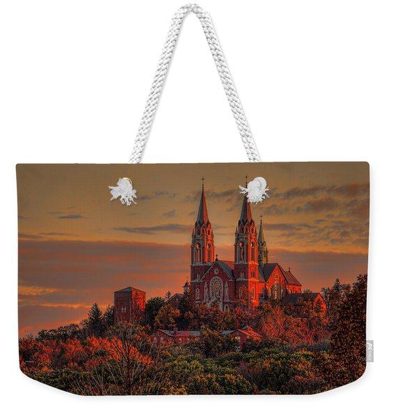 Holy Hill Sunrise Weekender Tote Bag