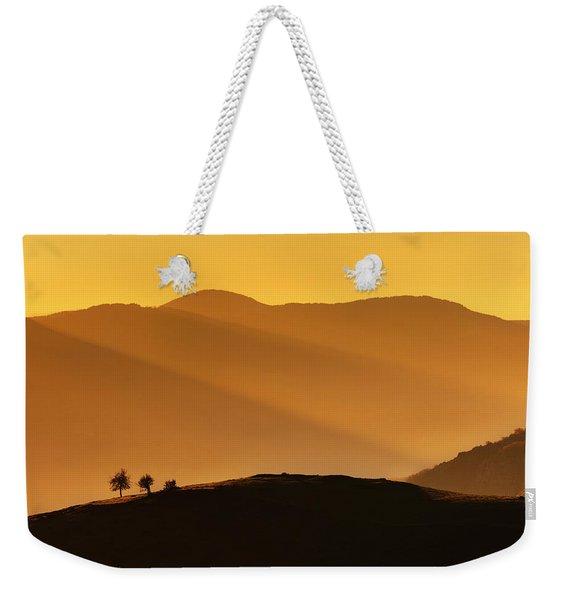 Holy Mountain Weekender Tote Bag