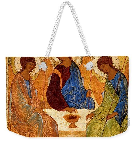 Holy Trinity Weekender Tote Bag