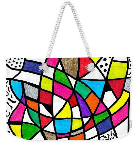 Homage To The Muses 3 Weekender Tote Bag