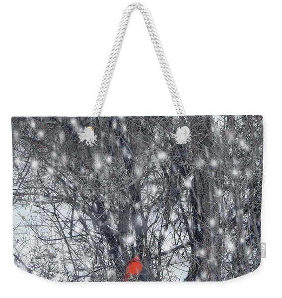 Home Of The Cardinals Weekender Tote Bag