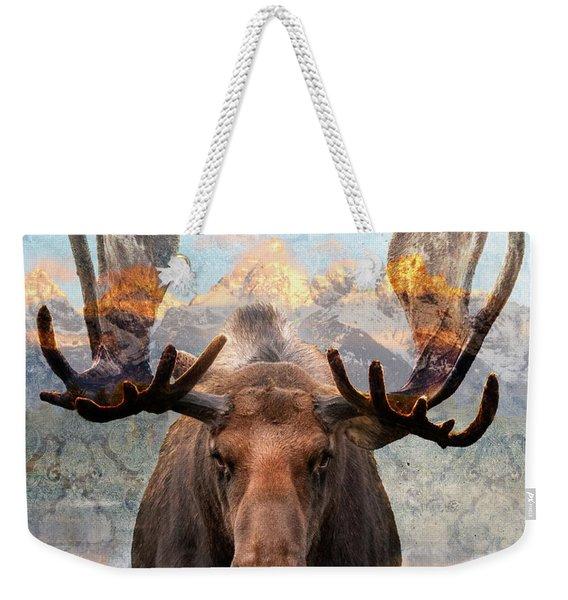 Hometown Moose Weekender Tote Bag
